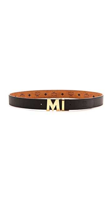 MCM Visetos Reversible M Belt