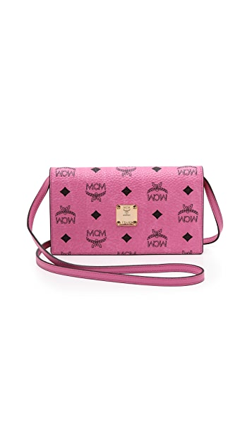 MCM Cross Body Wallet