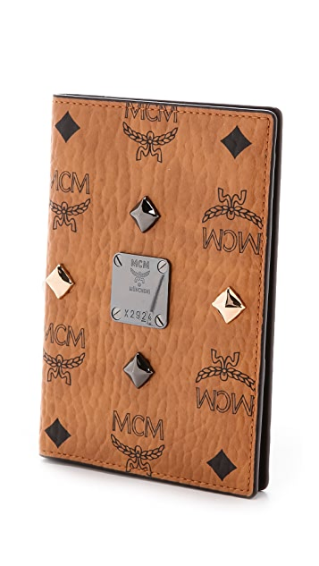 MCM Passport Holder