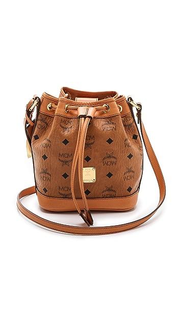 MCM Drawstring Bag
