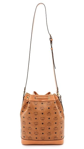 MCM Small Drawstring Bag