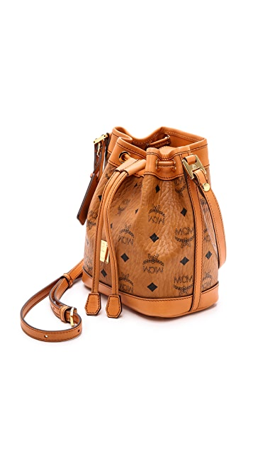 MCM Mini Drawstring Bag