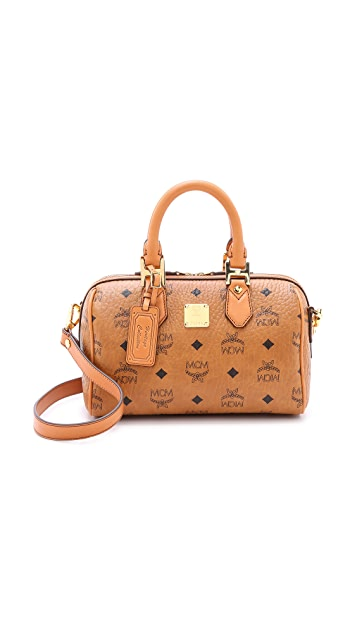 f7b68bfd21f6 MCM Small Boston Bag | SHOPBOP