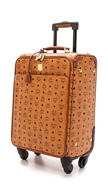 MCM Small Carry On Trolly Bag