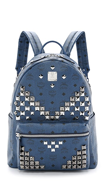 MCM M Studded Stark Backpack