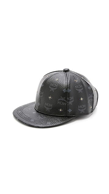 0dbeb048be6 MCM Visetos Diamond Stud Cap