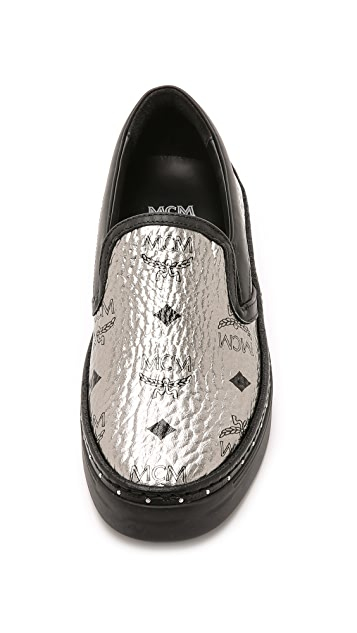 MCM Slip On Sneakers