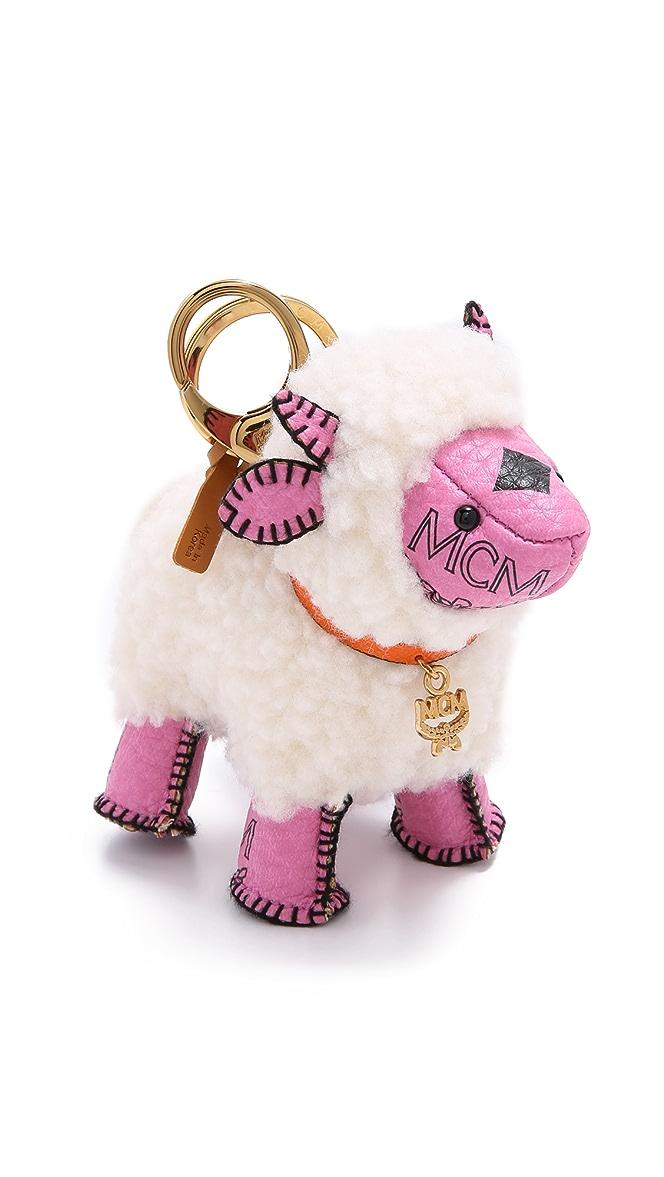 Sheep Charm Keychain
