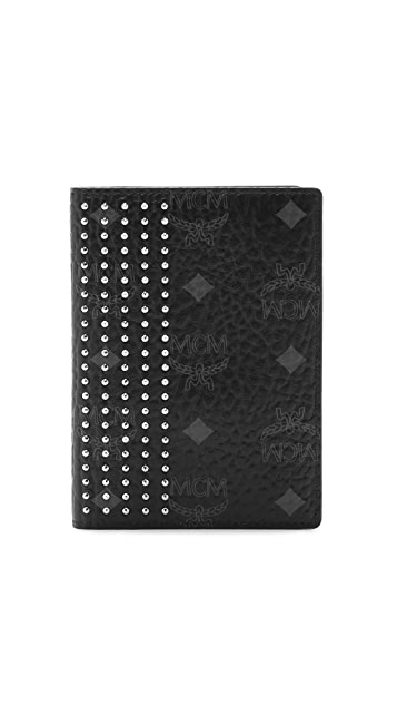 MCM Neo Stark Passport Holder
