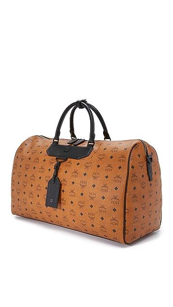 MCM Nomad Weekender Bag