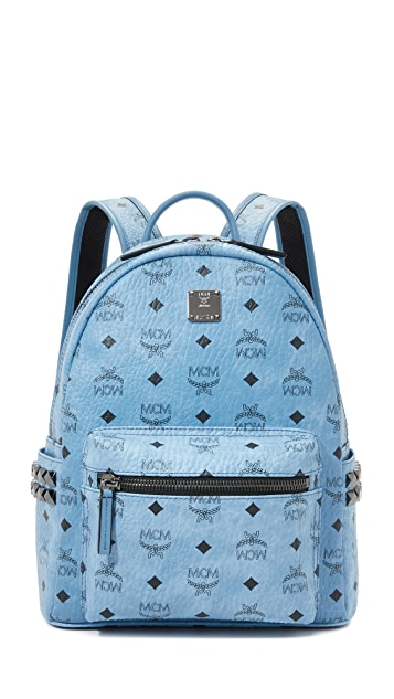 MCM Small Side Stud Backpack