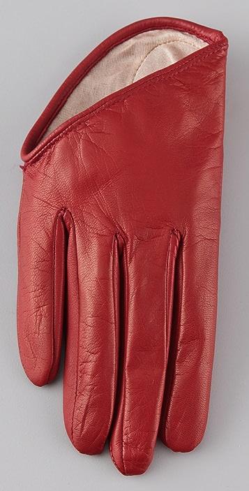 McQ - Alexander McQueen Leather Gloves