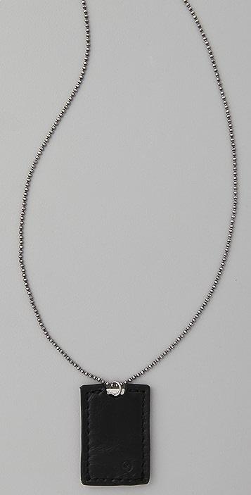 McQ - Alexander McQueen Razor Pendant Necklace