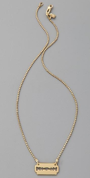 McQ - Alexander McQueen Mini Razor Necklace