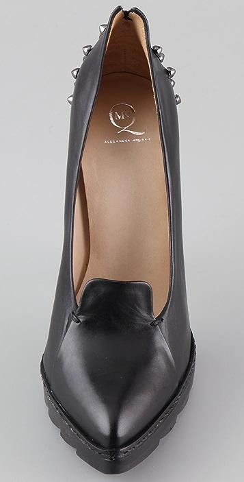 McQ - Alexander McQueen High Heel Lip Pumps