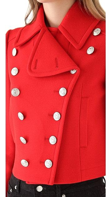 McQ - Alexander McQueen Mini Pea Coat