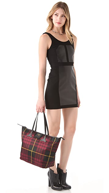 McQ - Alexander McQueen Plaid Medium Shopper