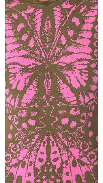 McQ - Alexander McQueen Butterfly Dress