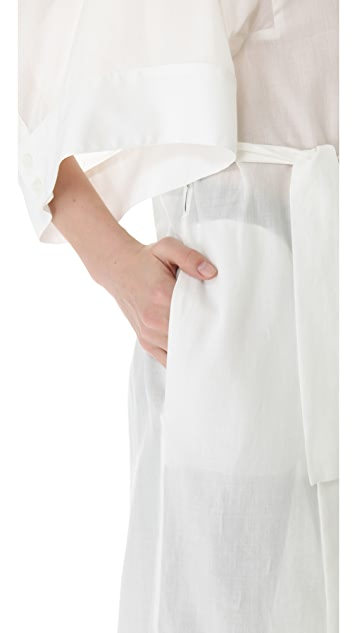 McQ - Alexander McQueen Long Shirtdress