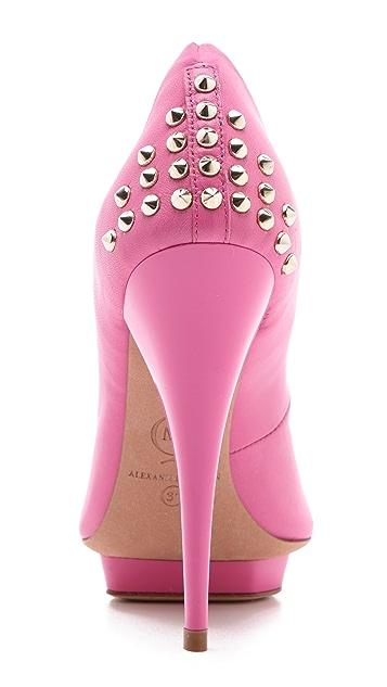 McQ - Alexander McQueen Studded Heel Pumps