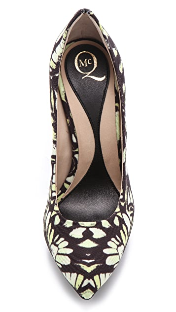 McQ - Alexander McQueen Printed High Heel Pumps