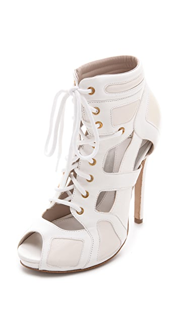 McQ - Alexander McQueen Sporty Lace Up Booties