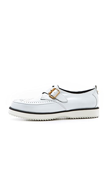 McQ - Alexander McQueen Brogued Creepers