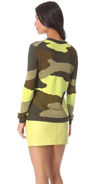 McQ - Alexander McQueen Camouflage Sweater