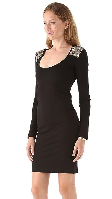 McQ - Alexander McQueen Scoop Neck Dress