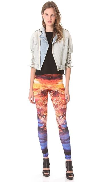 McQ - Alexander McQueen Printed Leggings