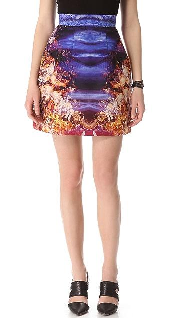 McQ - Alexander McQueen Bell Print Skirt
