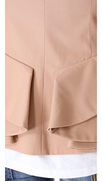 McQ - Alexander McQueen Bustle Back Blazer