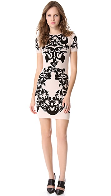 McQ - Alexander McQueen Jacquard Knit Dress