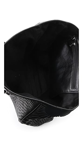 McQ - Alexander McQueen Slash Leather Shopper Tote