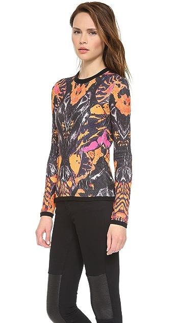 McQ - Alexander McQueen Print Knit Top
