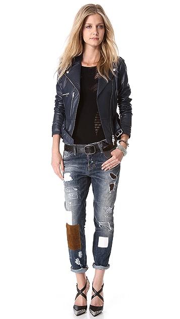 McQ - Alexander McQueen Zip Biker Jacket