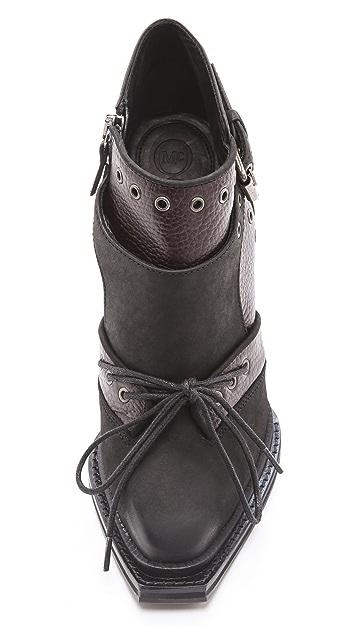 McQ - Alexander McQueen High Heel Military Booties