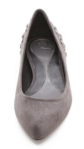 McQ - Alexander McQueen New Studded Ballet Flats