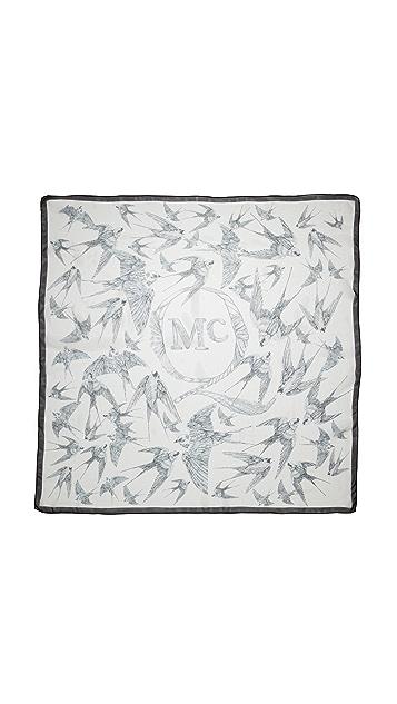 McQ - Alexander McQueen Swallow Print Scarf