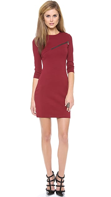 McQ - Alexander McQueen Jersey 3/4 Sleeve Dress