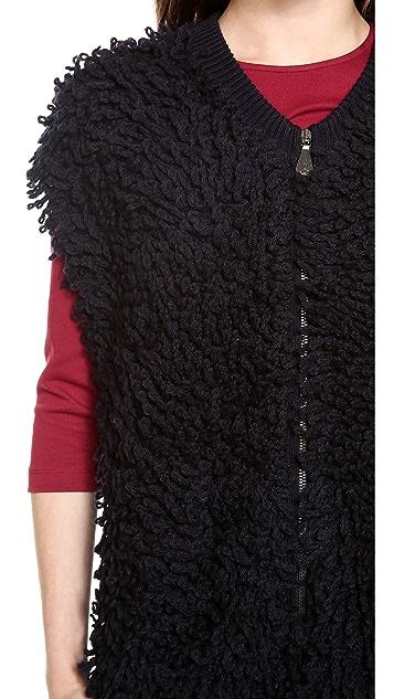 McQ - Alexander McQueen Loop Knit Vest