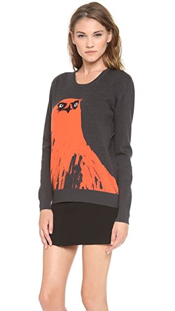 McQ - Alexander McQueen Angry Eagle Sweater