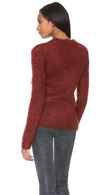 McQ - Alexander McQueen Degrade Mohair Sweater