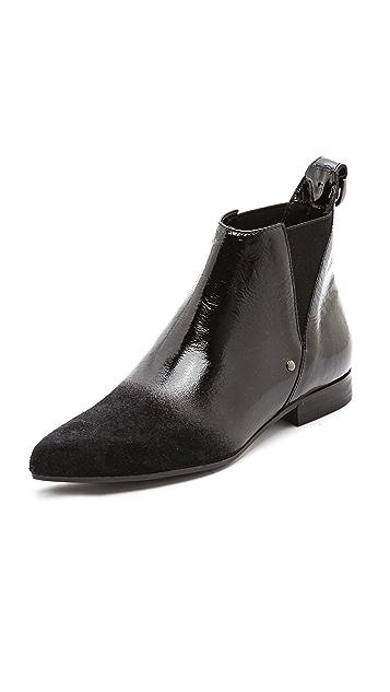 McQ - Alexander McQueen Suede Flat Booties