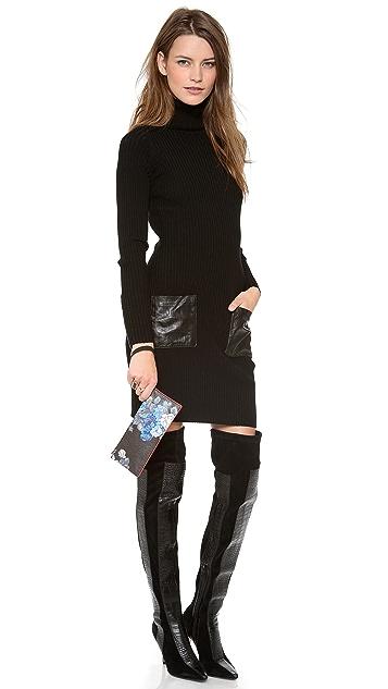 McQ - Alexander McQueen Faux Leather Wristlet