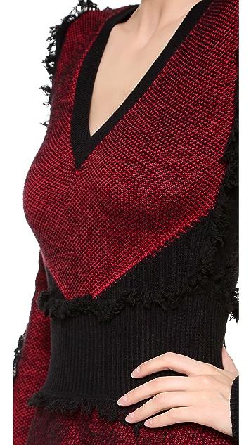 McQ - Alexander McQueen Tweed Flirty Dress