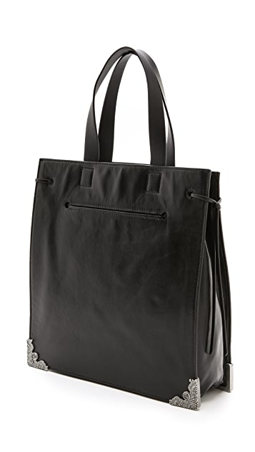 McQ - Alexander McQueen Leather Shopper
