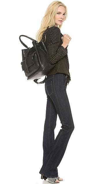 McQ - Alexander McQueen Leather Duffel