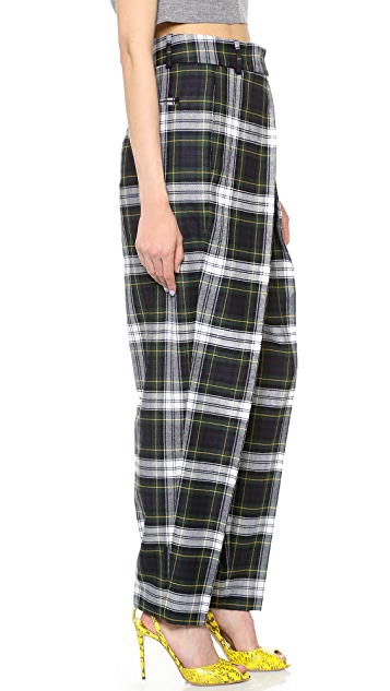 McQ - Alexander McQueen Front Pleat Trousers