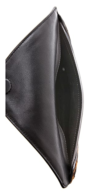McQ - Alexander McQueen Haircalf Envelope Clutch